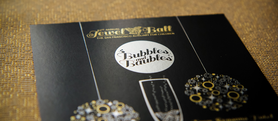 Event Invitation Design Jewel Ball