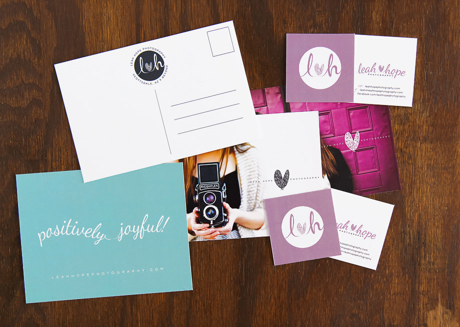 Graphic Design and branding for Leah Hope Photography